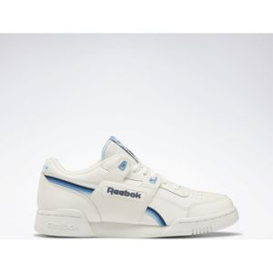 Reebok Chaussures Classic Workout Plus blanc - Taille 39,40,41,42,43,44,45,40 1/2,42 1/2,47,37 1/2,38 1/2,44 1/2,45 1/2