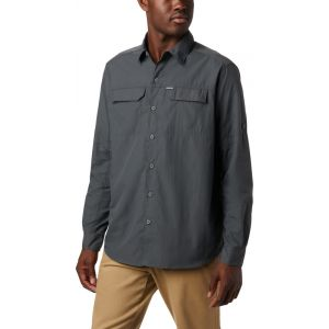 Columbia Silver Ridge 2.0 Chemise manches longues Homme, grill S T-shirts techniques