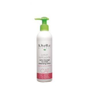 Khara Lotion nettoyante sans rinçage pour chat 250 ml