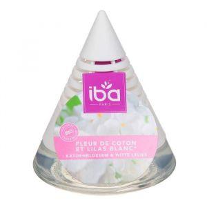 Iba Désodorisant d'ambiance, fleur de coton et lilas blanc