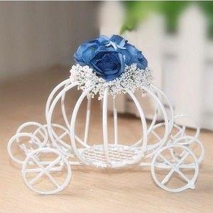 Centre de table carrosse Cendrillon fleur
