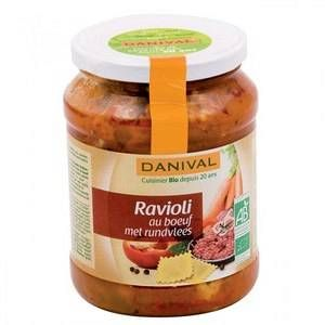 Danival Raviolis au boeufd'origine française 670 g