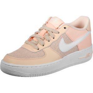 Nike Air Force 1 Lv8 Gs chaussures enfants beige blanc rose 37,5 = 5Y EU