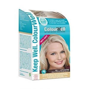 ColourWell Coloration Capillaire Blond Naturel Clair - 100 g
