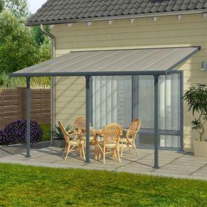 Chalet et Jardin Toit Couv'Terrasse avancée 3 x 6 m - 18 m2