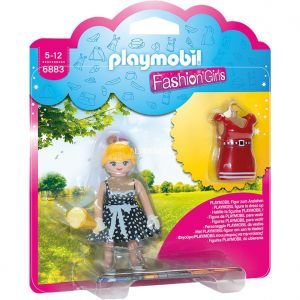 Playmobil 6883 Fashion Girls - Figurine Tenue Rétro