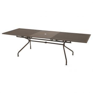 Table fixe Athéna marron d%u2019Inde L100x230/300xH75