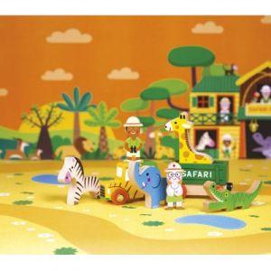 Janod Figurines Mini Story Safari