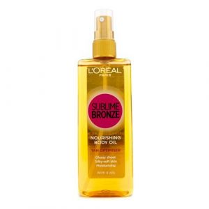 L'Oréal Sublime Bronze Nourishing Body Oil Tan Optimiser