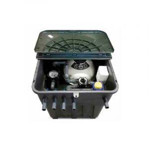 Astral Pool Local technique enterré Keops avec filtre à sable Cantabric Ø 600 mm + Pompe Victoria Plus Silent 1 CV + Electrolyseur au sel Compact 100