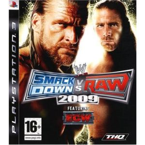WWE SmackDown vs Raw 2009 [PS3]