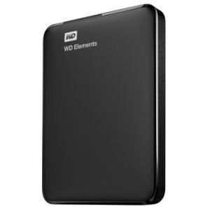 "Western Digital WDBUZG0010BBK - Disque dur externe WD Elements 1 To 2.5"" USB 3.0 ("