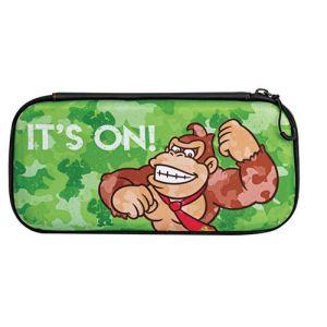 PDP Pochette de transport Slim Donkey Kong Camo pour Nintendo Switch