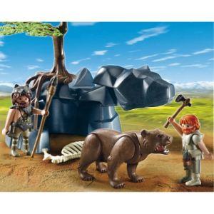Playmobil 5103 - Hommes préhistoriques avec ours