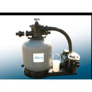 Water'clip Filtration à sable PVC cuve 11 m3/h