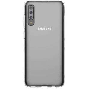 Samsung Coque arriere Designed for Galaxy A70 Transparent