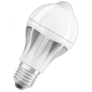 Osram Ampoule LED Star + Motion Sensor E27 standard 9 W équivalent a 60 W blanc chaud - Culot : E27 - Puissance : 9 W - Equivalence : 60 W - Flux lumineux : 806 Lm.
