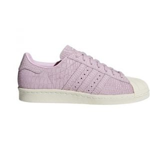 Adidas Superstar 80s, Baskets Hautes Femme, Rose Wonder Pink/Off White, 40 2/3 EU