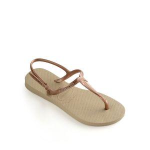 Havaianas Women's Twist - Sandales de marche taille 35/36, beige