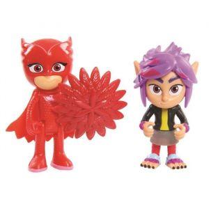 PVM Blister de 2 figurines Pyjamasques Bibou et Rip