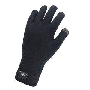 Sealskinz Waterproof All Weather Ultra Grip Gants en maille tricotée, black S | 7-8 Gants polaire & laine