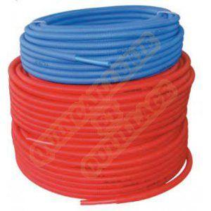 Pb Tub Tube PER prégainé Ø 25 x 2,3 tube prégainé rouge la couronne de 50 m