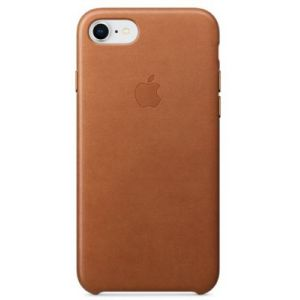 Apple Coque en cuir Havane iPhone 8 / 7