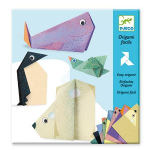 Djeco Origami facile : Les animaux polaires