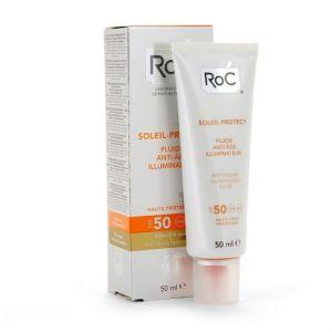 ROC Soleil protect - Fluide anti-rides lissant SPF50+