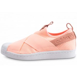 Adidas Superstar Slip-on Orange Femme Baskets/Tennis Femme