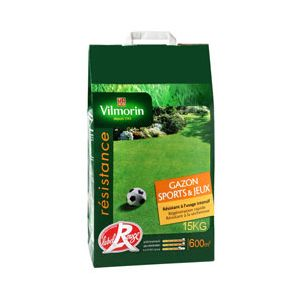 Vilmorin Gazon Sport et Jeux - sac de 15Kg pour 600 m²