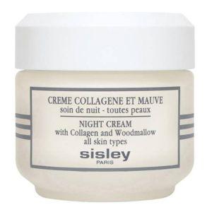 Sisley Crème Collagène et Mauve - Soin de nuit toutes peaux