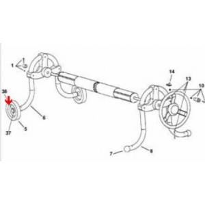 Procopi 1869012 - Enjoliveur de roue d'enrouleur