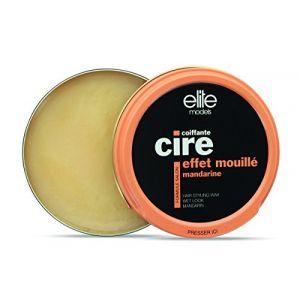 Elite Cire coiffante effet mouillé mandarine