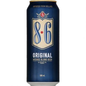 8.6 Original blond beer 8.6%