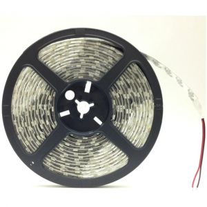 Silamp Ruban LED 12V 5M 5050 IP44 60LED/m - couleur eclairage : Blanc Chaud 2300K - 3500K