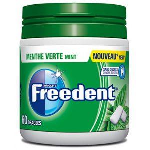 Freedent Chewing-gum sans sucres au goût menthe verte
