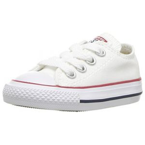 Converse Chuck Taylor All Star Core Ox, Baskets mode mixte enfant - Blanc (Blanc Optical) - 30 EU (12 UK)