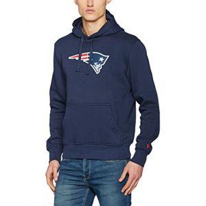 New era New England Patriots Pullover Team Logo Hoodie - Oceanside Blue - Taille XXXL