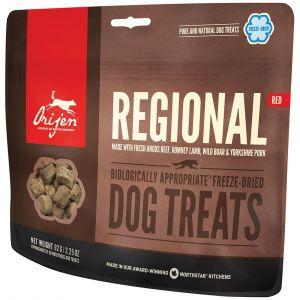 Orijen Friandises pour chien Regional Red Contenance : 42,5 g