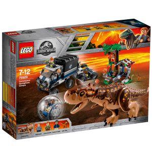 Lego Jurassic World 75929 - Le Carnotaurus et la fuite en Gyrosphère