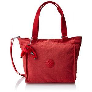 Kipling New Shopper S, Sacs bandoulière femme, Rouge (Spicy Red C), 15x24x45 cm (W x H x L)