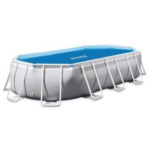 Intex Bâche à bulles renforcée pour piscine tubulaire ovale 4,00 x 2,00 m