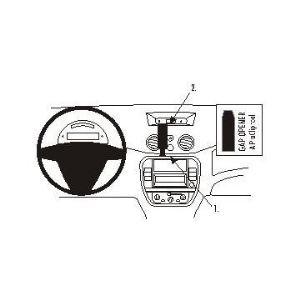 Brodit 853750 - Support de fixation ProClip pour Citroën C3 06-09