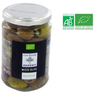 Casa Rinaldi Mixte olive dénoyautée bio - 280 g