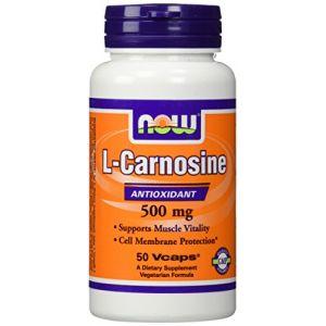 Now Foods L-carnosine 500 mg - 50 gélules végétales