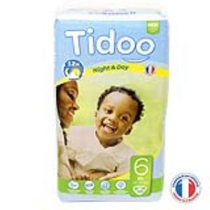 Tidoo Couches Jumbo XL taille 6 (16-30 kg)