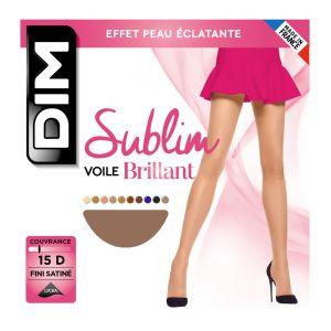 DIM Collant Sublim Voile Brillant T1 Gazelle - Le Collant