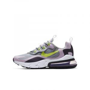 Nike Air Max 270 React Blanc/violet/jaune 38 Unisex