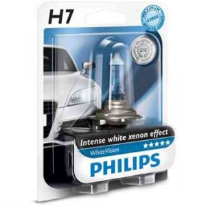 Philips 1 Ampoule H7 WhiteVision 12 V